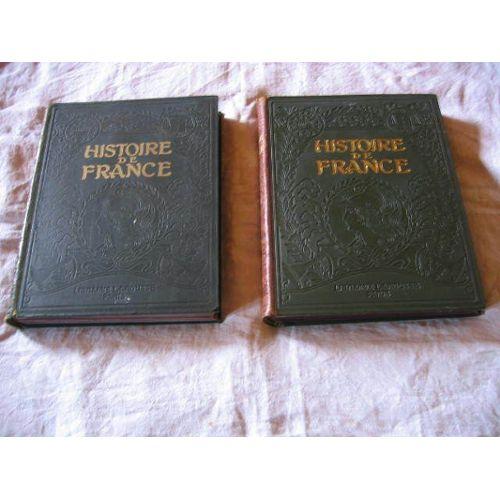 Histoire De France Illustree Tome Second De 1610 A 1871 1048 Repro Photo 19 Planches Couleurs 4 Cartes Couleurs 47 Cartes Noir
