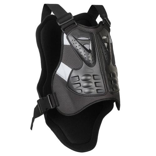 Plastron Gilet Moto Cross Armure Protecteur Le Dos et la Poitrine pour Moto v/élo Ski L M Blouson de Motard Gilet Protection XL S