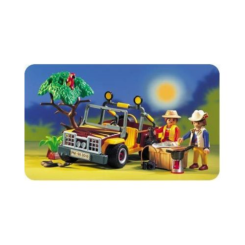 voiture Playmobil 3018 ref 14