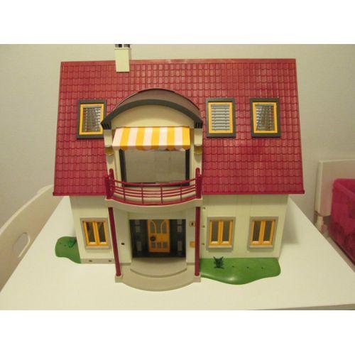 Maison Playmobil Villa moderne entièrement meublée + lot d ...