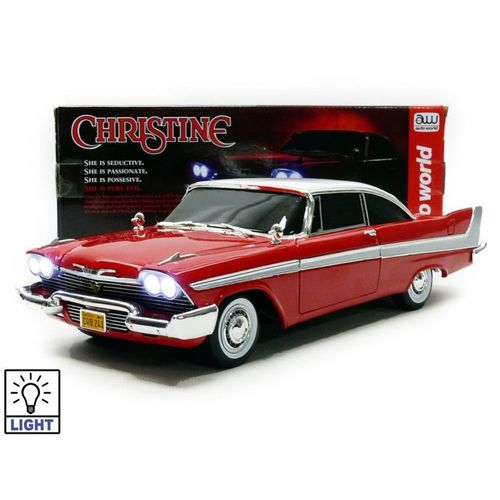 PLYMOUTH FURY 1958 AUTO WORLD CHRISTINE AWSS6401RM 1//64