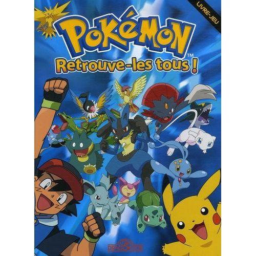Pokemon Retrouve Les Tous Livre Jeu