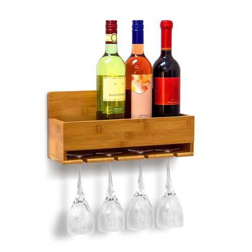 Étagère à vin pour le mur bouteilles bouteilles Support bouteilles étagère déco murale NEUF