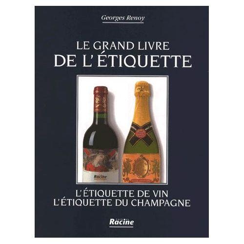 Le Livre De Létiquette De Vin Létiquette De Champagne