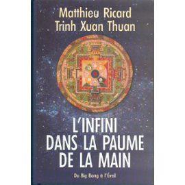 [METAPHYSIQUE] QUI SUIS-JE, OU VAIS-JE, DANS QUELLE ETAGERE ? - Page 20 Ricard-Matthieu-Xuan-Than-Trinh-L-infini-Dans-La-Paume-De-La-Main-Livre-840170_ML