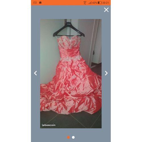 66dc6868d robe de ceremonie rose pas cher ou d'occasion sur Rakuten
