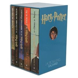Harry Potter Coffret En 5 Volumes Tome 1 Harry Potter A L Ecole Des Sorciers Tome 2 Harry Potter Et La Chambre Des Secrets Tome 3 Harry
