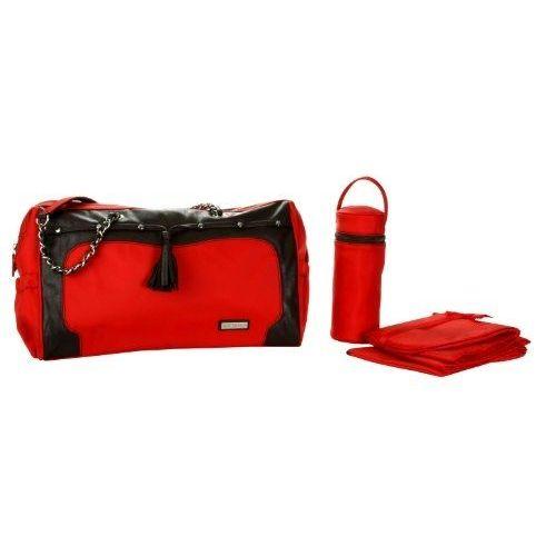 L/ässig Glam Signature Accessoires pour sac rouge