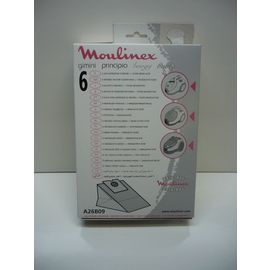 Rowenta A26B09 Pochette de 6 Sacs Principio 1 Filtre Mod/èles Boogy Gimini