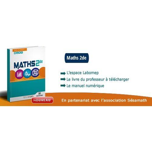 Maths 2nde Manuel Enseignant Sesamath Edition Magnard