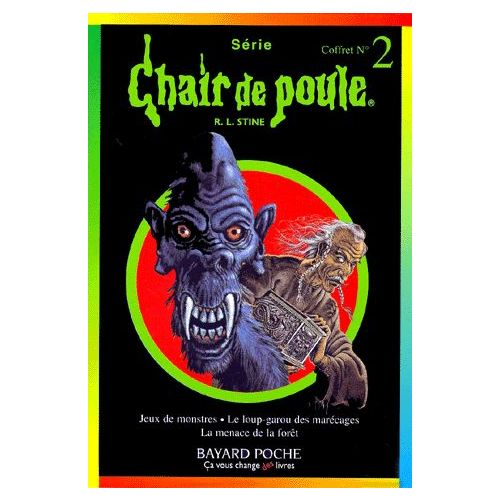 Chair De Poule Coffret 3 Volumes Volume 13 Le Loup Garou Des Marecages Volume 33 La Menace De La Foret Volume 36 Jeux De Monstres