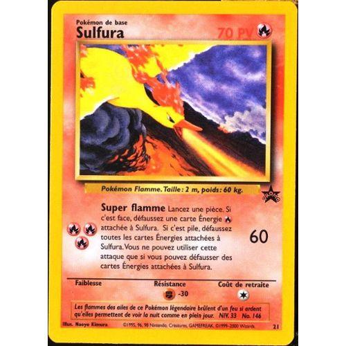 Sulfura 120pv 9//124 XY Impact des Destins Carte Pokemon Rare neuve fr