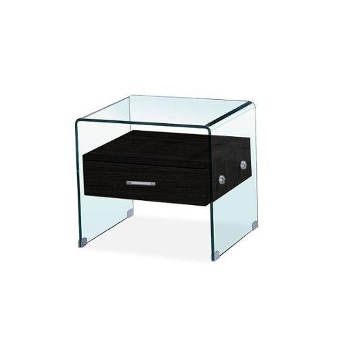 Neu.Haus /® Tableau de Table Bureau Chevet Table de Jardin en Verre Tremp/é ESG Noir Bords Polis Meuble DIY /Épaisseur 8 mm Diam/ètre /Ø 50 cm