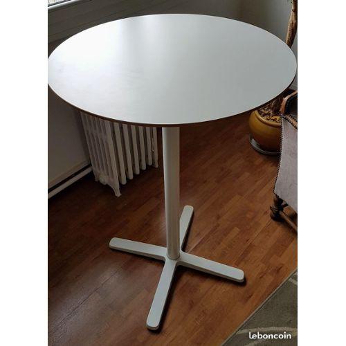 Table De Bar Ronde Haute Ikea Billsta Etat Neuf Rakuten