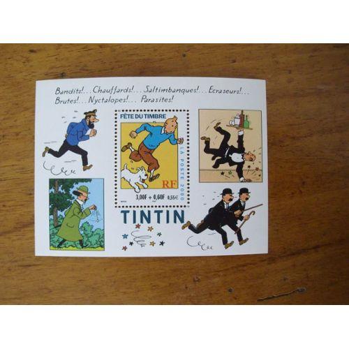 Cahier d/'écriture Vierge ETAT NEUF Tintin matériel scolaire  Grand Format