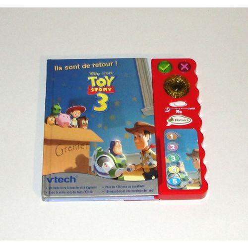 Vtech Magi Livre Toy Story 3 Livre Interactif Disney Rakuten