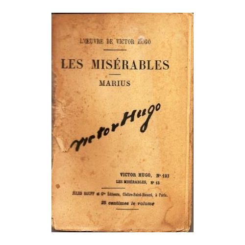 Black Friday Les Miserables Marius N 13 Rakuten