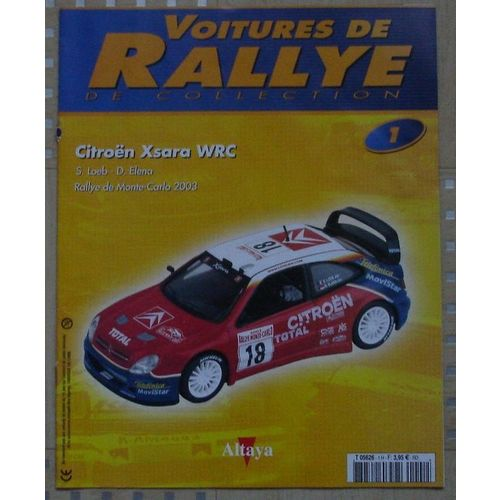 Citroen Xsara WRC Stohl Rallye Monte-Carlo 2007 1//43 IXO NEUF BOITE VITRINE