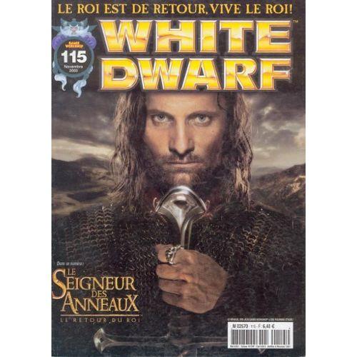 White Dwarf n°160 Retour du Roi Gondor en Flammes