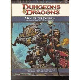 Dungeons & Dragons Manuel Du Joueur   de Wyatt, James  Format Cartonné