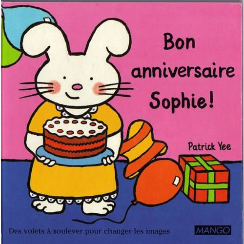 Bon Anniversaire Sophie Des Volets à Soulever Pour Changer Les Images