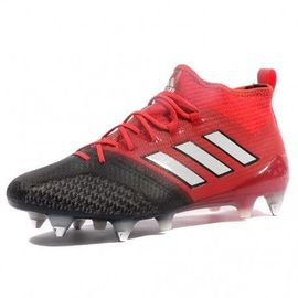 Ace 17.1 Primeknit SG Homme Chaussures Football Rouge Adidas