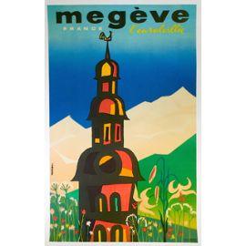 Affiche Megeve