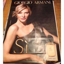 Affiche Avec Parfum Giorgio Cate 160 Si 120 Armani Publicitaire De drBeCxo