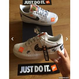 nouveau produit 66ecb 9b982 air force one just do it