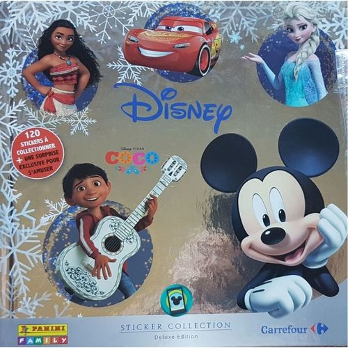 Carte Carrefour Disney Panini.Album Panini Carrefour Disney 2017