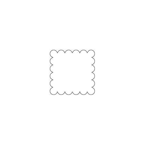 154 MERCERIE ANCIENNE  BOUTON  transparent fumé 1cm