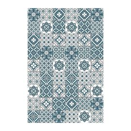 Amadora Tapis 100 Vinyle Imitation Carreau De Ciment 99 X 150