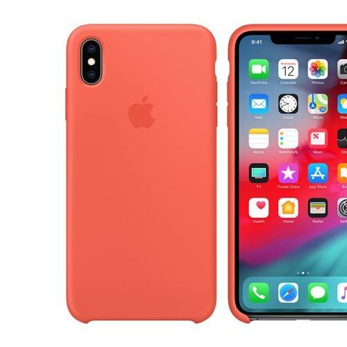 coque iphone xs apple red