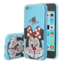 apple iphone 5c coque housse silicone tpu transparente ultra fine dessin anime jolie minnie mouse 1081094755 ML