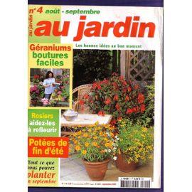 au jardin n 4 ao t septembre 2002 boutures de g raniums. Black Bedroom Furniture Sets. Home Design Ideas