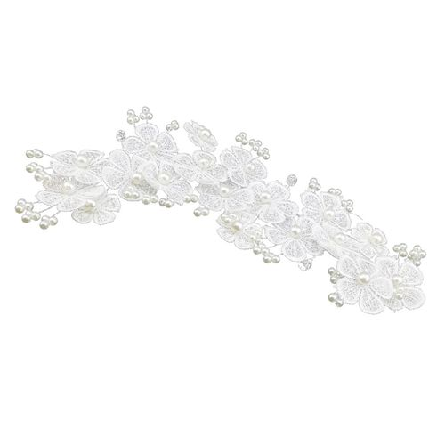 Lot de 5 Nylon Skinny élastique bandeaux-Bow Making 24 couleurs disponibles