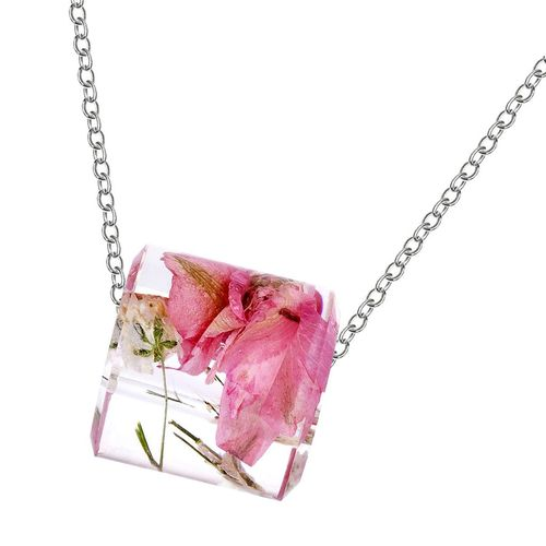 Collier pendentif basket rose cordon base-ball pink baseball boot necklace
