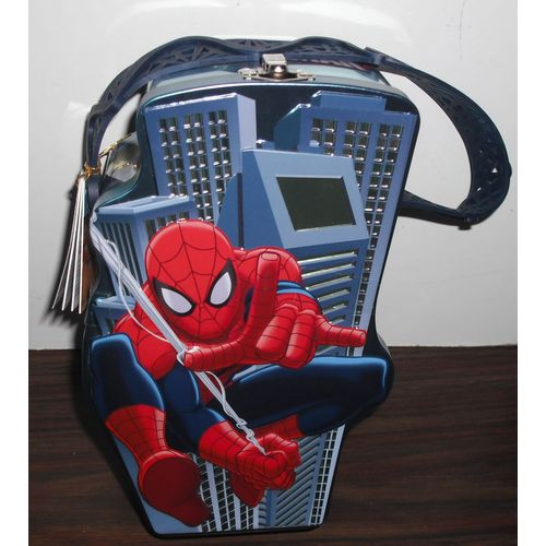 SPIDER-MAN TOTE TIN /& MARVEL ROCKET RACCOON Action Figure v1 Grand Noël Cadeaux