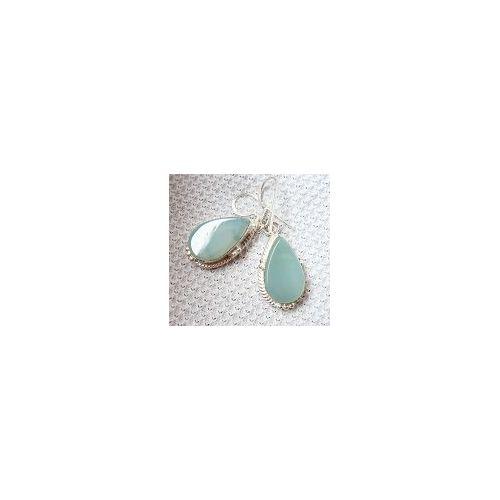 Genuine Pretty 10 Mm Naturel Vert Foncé Jade 925 Argent Sterling Boucles D/'oreilles Clou