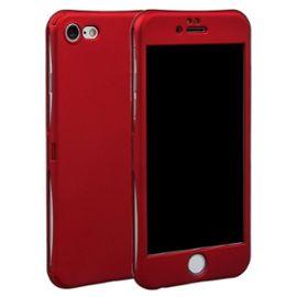 bpfy top vente coque 360 iphone 7 plus 8 plus rouge housse coque de protection avec verre trempe meilleur prix 1212687152 ML
