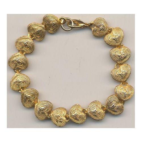 Double homard fermoir fin perles porte-clés Keychain Key Holder Long de 50 cm Bronze Tone
