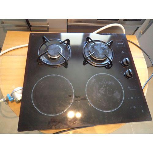 Brandt Ti613bs1 Table De Cuisson Mixte Induction Et Gaz