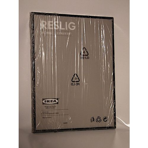 Cadre Métal Noir Reslig Ikea Rakuten