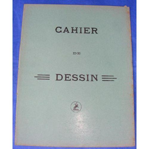 Cahier Dessin Le Conquerant Années 1940 16 Pages Grands Carreaux Matériel Scolaire Ancien