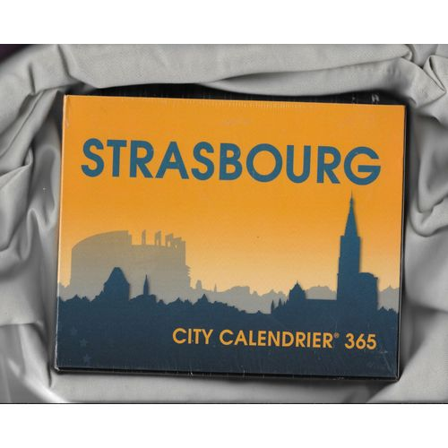 Calendrier City.Calendrier City 365 Strasbourg