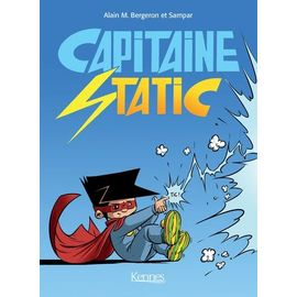 Capitaine Static Tomes 1 À 3 de Bergeron Alain-M Format Album