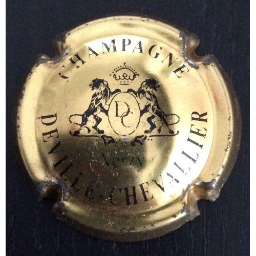 CAPSULE DE CHAMPAGNE DEVILLE CHEVALLIER*