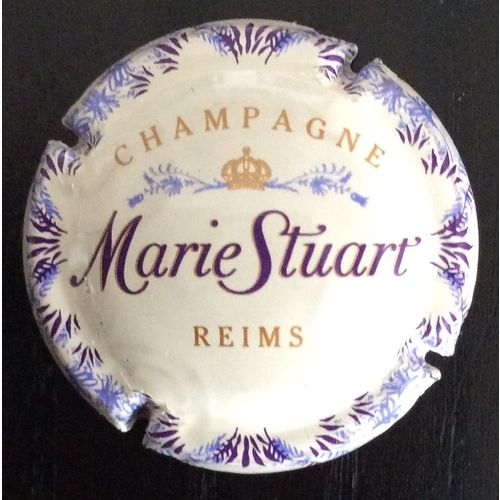 CAPSULE DE CHAMPAGNE MARIE STUART*