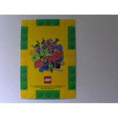 Carte Lego Auchan Livre.Carte Auchan Lego 2018 Brillante