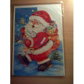 Carte de vœux Père Noël   Carte postale | Rakuten